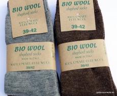 Wollsocke aus BioWolle 2er Set