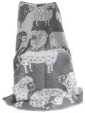 Wolldecke mit Schwarzkopfschaf
