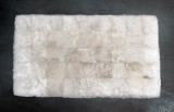 Schaffelldecke 100 x 220 cm